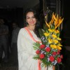 Akriti Kakkar poses for the media at Anup Jalota's Birthday Celebration