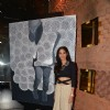 Anushka Rajan  poses for the media at the Gallerie Angel Arts Event