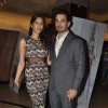 Abhinav Shukla and Himarsha Venkatsamy poses at Roar Film Launch