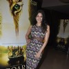 Himarsha Venkatsamy poses for the media at Roar Film Launch
