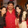 Rajan Shahi' with Adaa Khan, Neha Sargam and Kanchi Singh at the celebration