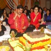 Rajan Shahi and Hina Khan perform a pooja as Yeh Ristha Kya Kehlata Hai completes 1500 episodes
