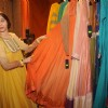 Sasha Agha checksout the collection at the Inaugration of Fashion Apparel Label Zinnia