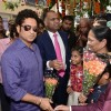 Sachin Tendulkar felicitated at the Inauguration PVP Mall