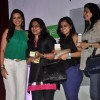 Sonali Bendre poses with female fans at the Launch of Orliflame Products