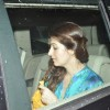 Twinkle Khanna was snapped in her car at PVR