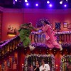Kiku Sharda and Ali Asgar performing a stunt on CNWK