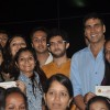 Akshay Kumar and Aditya Thackeray with the girls at Women's Self Defence Event