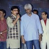 Sachin Pilgaonkar addresses Vikram Bhatt at the Launch of the Movie Pyar Wali Love Story