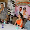 Akshay Kumar addresses the media at the Promotions of Entertainment in Bangalore