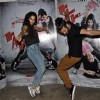 Saahil Prem and Amrit Maghera give a dance pose at the Promotion of Mad About Dance