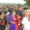 Rani Mukherjee was spotted at the Promotions of Mardaani in Jhansi