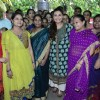 Rani Mukherjee poses with the Teachers at the Promotion of Mardaani at a Local School