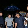 Aamir Khan was spotted entering the Venue of the Premiere of Makrand Deshpande's Saturday Sunday