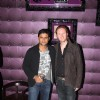 Manav Gohil with Alexx O'Neil at the Music Launch of Plot 666- Restricted Area