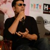 Akshay Kumar was seen interacting with the audience at the Promotion of Entertainment in Delhi