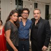 Shaan with his wife and Ravi Behl at Shama Sikander's Birthday Bash