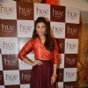 Daisy Shah poses for the media at the Preview at Hue Store