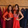 Parvathy Omanakuttan and Daisy Shah pose for the media at Hue Store
