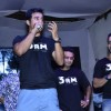 Rannvijay interacts with the crowd at the Trailer Launch of 3 AM