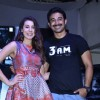 Rannvijay and Anindita pose for the media at the Trailer Launch of 3 AM