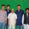 Celebs at the making of the Star Studded National Anthem by Film Maker Rajeev Walia