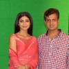 Shilpa Shetty with Film Maker Rajeev Walia