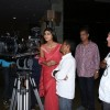 Shilpa Shetty with Film Maker Rajeev Walia at the making of Star Studded National Anthem