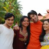 Alekh, Sadhna, Ranvir and Ragini looking excited