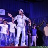 Remo D'souza teaches some children to dance at the Promotions of Desi Kattey