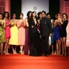 Nargis Fakhri and Mr. Vipin Sharma at the Indian Bridal Fashion Week Day 3