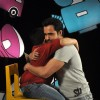 Emraan Hashmi gives a hug to Sadhil Kapoor on Captain Tiao