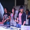 Saahil Prem and Amrit Maghera at the Promotion of Mad About Dance at Podar College
