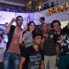 Saahil Prem and Amrit Maghera interact with the crowd at the Promotion of Mad About Dance