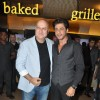 Shah Rukh Khan and Anupam Kher pose for the media at the Trailer Launch of Ekkees Topon Ki Salaami
