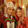 Marriage stills of Alekh and Sadhna