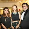 Evelyn Sharma, Krishaa and Gautam Ghanasingh at the Celebration