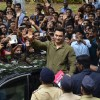 Aamir Khan waves outs to fans