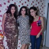 Sana Khan poses with Mansi Pritam and a friend at her Birthday Bash