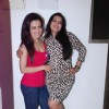 Sana Khan poses with Mansi Pritam at her Birthday Bash