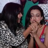 Mansi Pritam feeds her Birthday Cake to Sanaa Khan