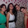 Sana Khan poses with Mansi Pritam and a friends at her Birthday Bash