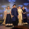 Shah Rukh Khan walks the ramp with models at Manish Malhotra's Show