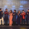 The cast of Happy New Year at Manish Malhotra's Show