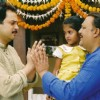 Mahesh Thakur and Alok Nath as Sadhana and Ragini''''''''s father in Sapna Babul Ka.. Bidaai