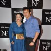 Jimmy Shergill was snapped with wife at the Birthday Bash cum Launch