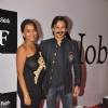 Vivek Oberoi poses with wife at the Birthday Bash cum Launch