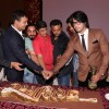 Cake cutting at the Success Bash of Mahabharat