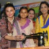 Rakhi Sawant Distributes Sewing Machines Supporting Women Empowerment