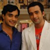Alekh and Dr.Shlok in the show Sapna Babul Ka.. Bidaai